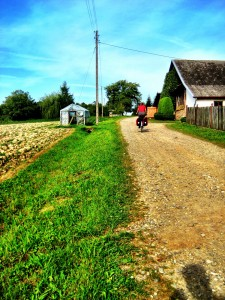 bicycle touring south eastern poland