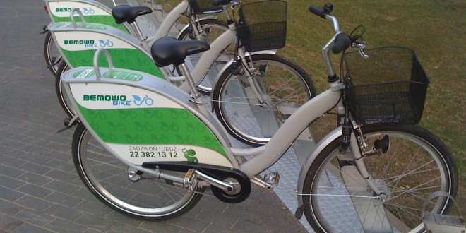 BIKE SHARING COMES TO WARSAW!