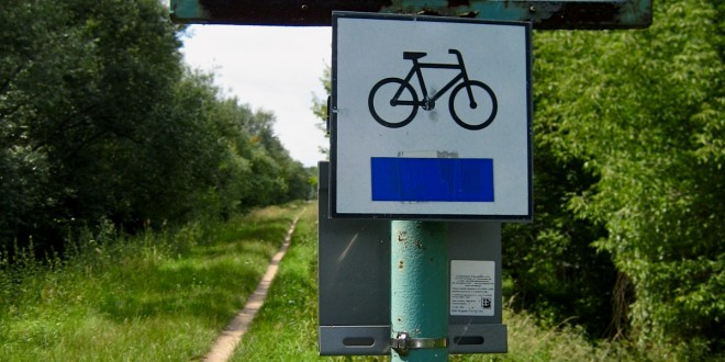 Warsaw on a bike