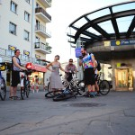 Plac Wilsona; Graffiti; Architecture; Tour De Varsovie; Zoliborz stage; Bicycle touring in Warszawa