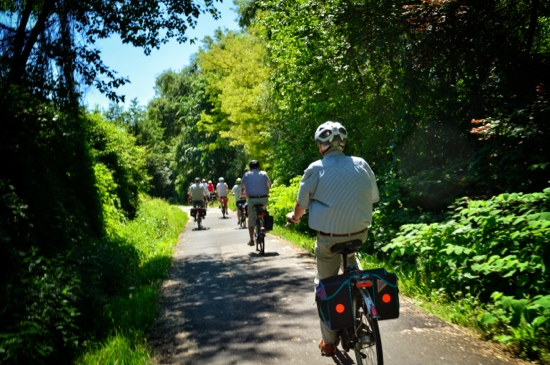Drauradweg is perfect for cycling families and mature bicycle tourists