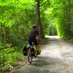 Czech Republic bicycle route 12; Prague Vienna Greenways; two wheel travel