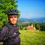 bicycle touring slovenia; dusan dixi strucl; two wheel travel