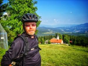 bicycle touring slovenia; dusan dixi strucl; two wheel travel