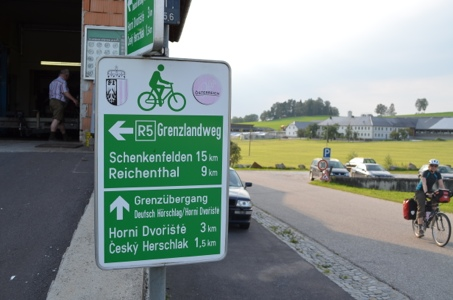 Cycle Route Signage; Austria; bike touring; two wheel travel