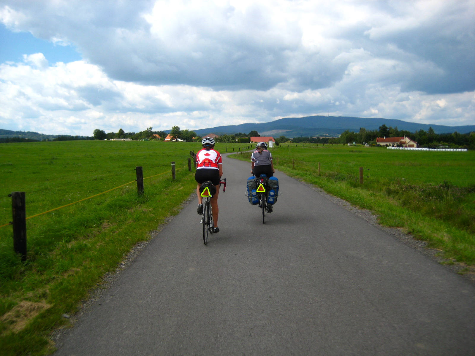 bicycle tourists Czech Republic