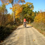 Weekend Bike Touring – Autumn Sun and Gravel Road fun