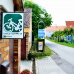 Pension Diana- Stekre, Czech Republic. A bicycle friendly Pension, located along the Prague to Vienna Greenway bicycle route. Czech Bike Route 11. Two Wheel Travel. Cykliste Vitani