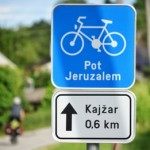 Bicycle touring Slovenia, Jeruzalem, vineyards, wine country