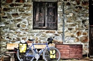 Bicycle touring Slovenia, Šumik Cottage, Pohorje Tranzversal, Two Wheel Travel, surly long haul trucker