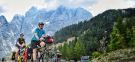 How to climb with a loaded touring bike
