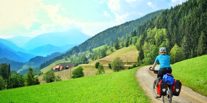 bicycle touring across pohorje