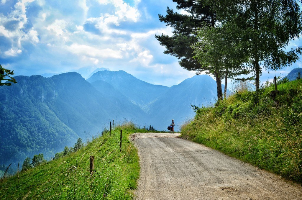 cycling to the savinjska alps