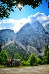 Triglav peaks; Slovenia