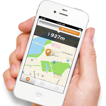 Track,monitor and share your bike with LOCK 8 gps function