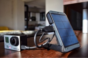 Waka Waka Power can charge Go Pro Hero3 in about 2 hours