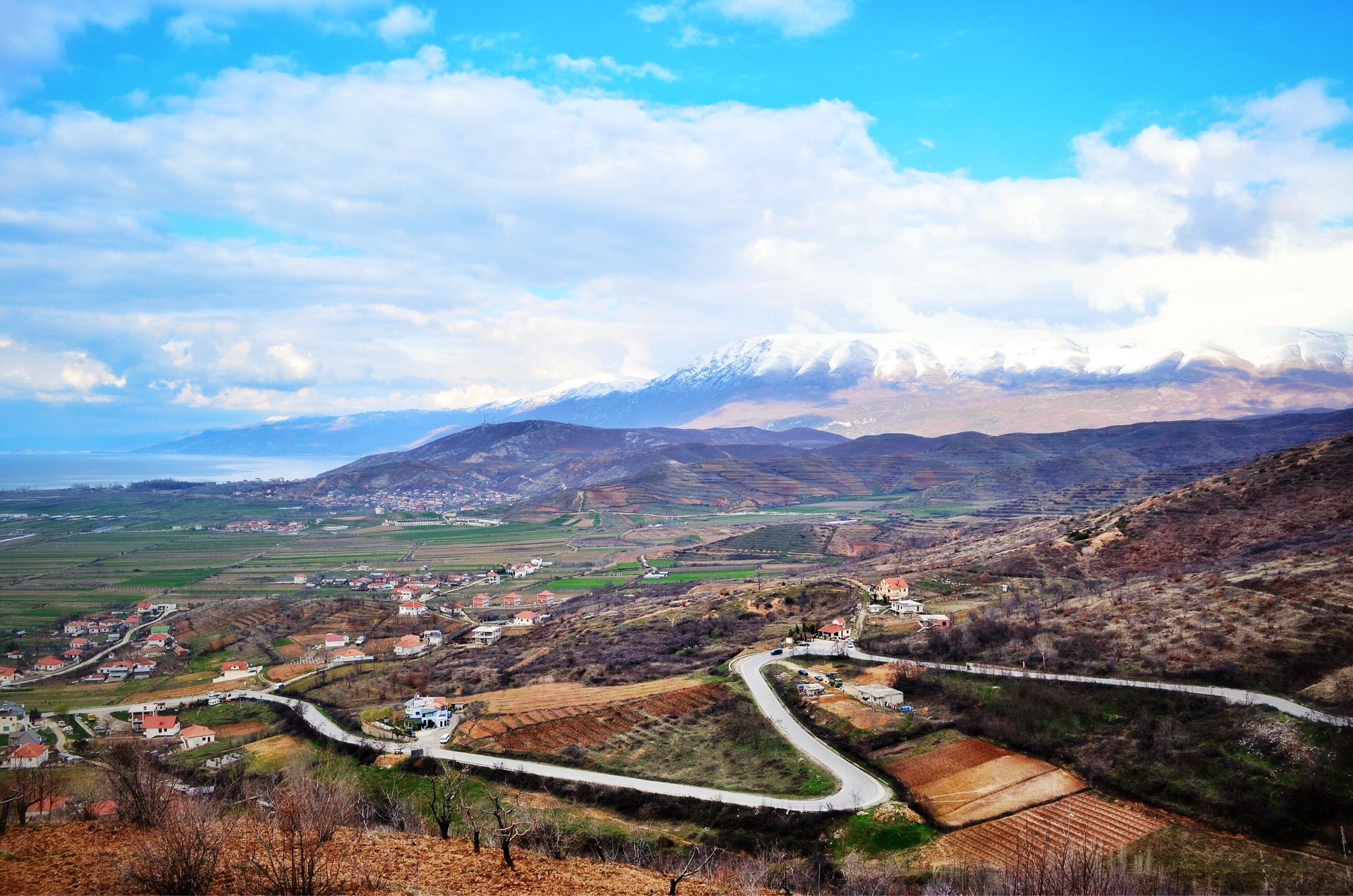 Climbing is what bicycle touring Albania is all about