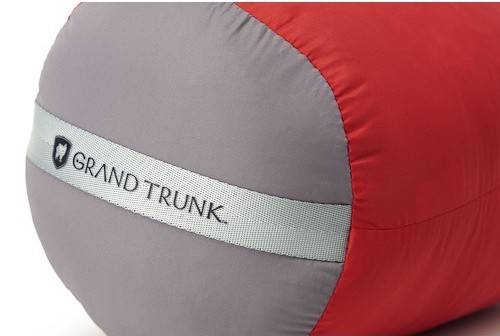 Grand Trunk Adjustable Travel Pillow review by Two Wheel Travel; bicycle touring